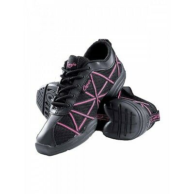 Capezio DS19 Hot Pink Web Dance Sneakers - Jazz Trainers