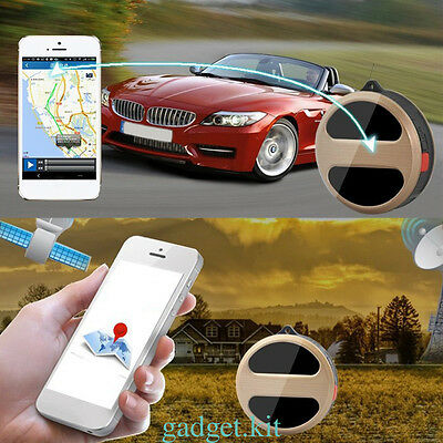 Mini Tracking Locator Device GSM GPRS GPS Realtime Tracker Vehicle System