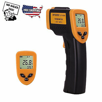 Infrared Thermometer Non-Contact Temperature Gun IR Laser Digital Display Spot