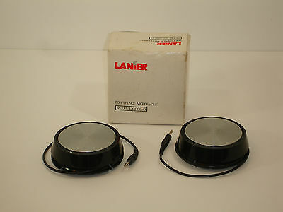 Lanier Conference Microphone Model LX-008-0 Pair in Original Box