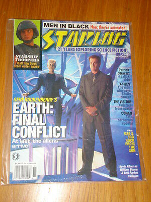 Starlog #244 Sci-Fi Magazine November 1997 Earth Final Conflict Starship Trooper