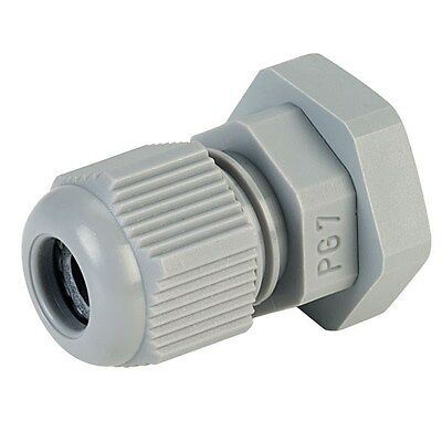 5x Jacob 50.007 PA PG7 Grey Dome Cable Gland