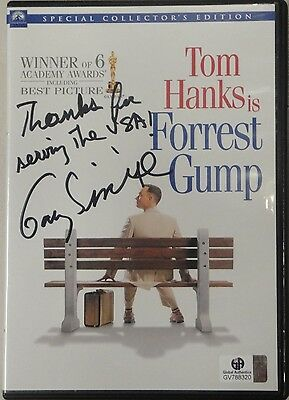 Gary Sinise Signed Autographed Forrest Gump DVD Cover GA 788320 Thanks for USA