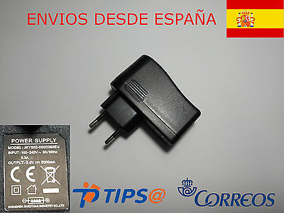 Cargador Usb Universal Para Movil Y Tablet 5V 2A Power Supply Dc Adapter Charger