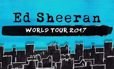 Ed Sheeran Sydney 15Th March (First Show) (Sold Out) | 4 X Ga Front Standing
