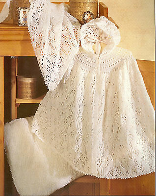 Baby Knitting Pattern Copy Cape Cot cover and cushion cover in 2 ply