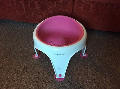 Great Safty Childs Pink Soft Touch Angelcare Baby Bath Seat Chair