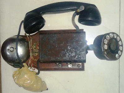 RARE VINTAGE Marine Telephone of Bell system Electric Phone