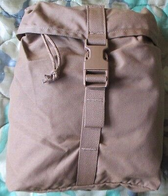 New Eagle Industries Us Marines/usmc Pack Filbe Coyote Tan Sustainment Pouch.