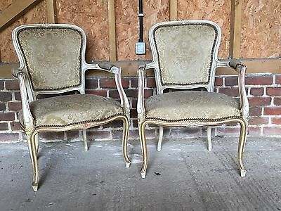 Two French Louis Chairs
