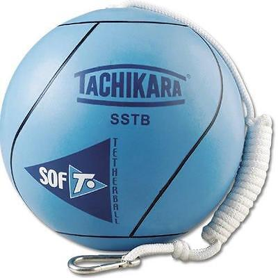 Tetherball Soft with Durable Nylon Rope Outdoor Play Fun Kids Adults New