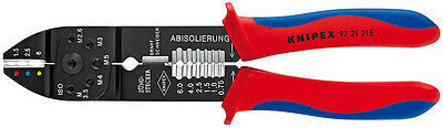 Knipex 97 21 215 Terminal Crimping Stripping Pliers Insulated Terminals Plug Con
