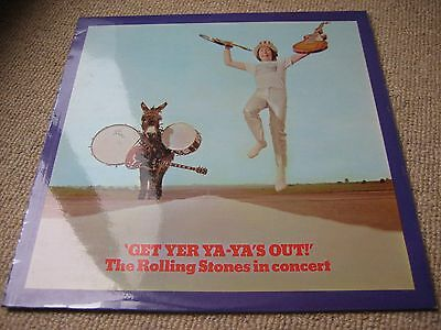The Rolling Stones Get Yer Ya Ya's Out UK 1st Issue LP Original Press 1970 MINTO