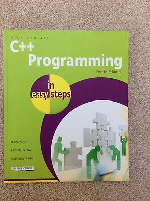 C++ Programming in Easy Steps by Mike McGrath (Paperback, 2011)