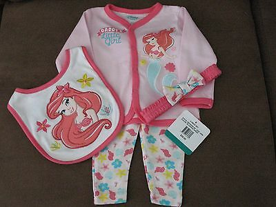 Gorgeous Disney 4 Piece Outfit For Reborn Baby Girl New/tags