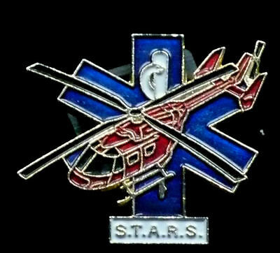 Air Ambulance Pin - S.T.A.R.S.  In good+ condition