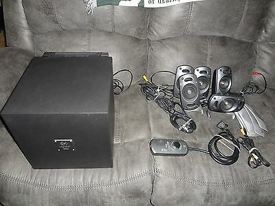 Logitech Z-5300 Surround Sound Speakers, Great Condition one owner TESTED
