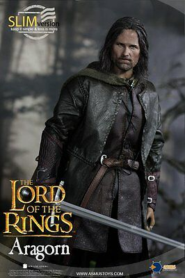 Asmus Toys The Lord of the Rings Series LOTR008s Aragorn Slim Version 1/6 Figure