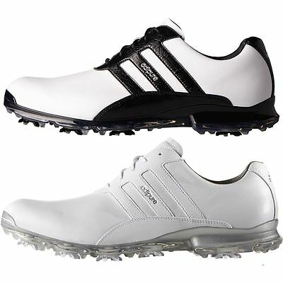 Adidas 2017 AdiPure Classic Mens Waterproof Leather Golf Shoes-Standard Fitting