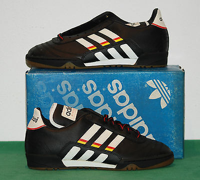 vintage adidas futsal indoor shoes ATTACKER GOAL cities 70 80 deadstock NOS BNWT