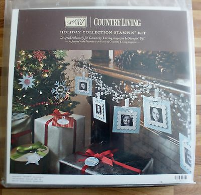 Stampin' Up Country Living Magazine Holiday Collection Kit 2008 NEW
