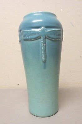 "ROOKWOOD ARTS & CRAFTS ART POTTERY 9.5"" VASE  #2325, MATTE FINISH, c. 1922"