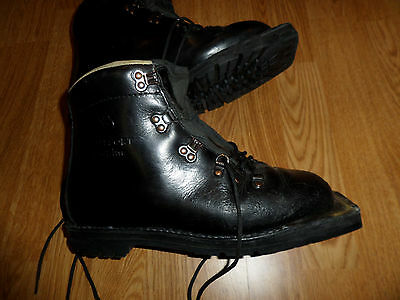 Asolo Snowpine Leather Telemark 3 Pin Cross Country Ski Boots Men's 8.5
