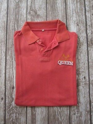 Queen   :  Vintage Promo Polo T-Shirt - Clothing