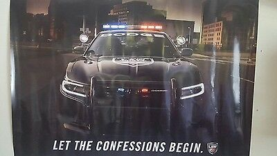 police poster Let The Confessions Begin