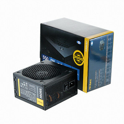 Alim Antec VP550P v2 550 Watt ATX 12V v2.32 120mm Fan, Alimentation PC bureau