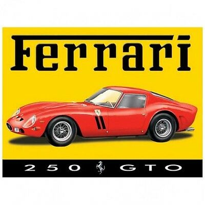 Ferrari 250 GTO Metal Sign