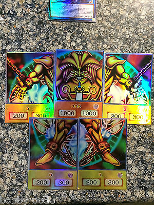 Yugioh Orica Set Anime EXODIA IL PROIBITO - EXODIA THE FORBIDDEN ONE FOIL