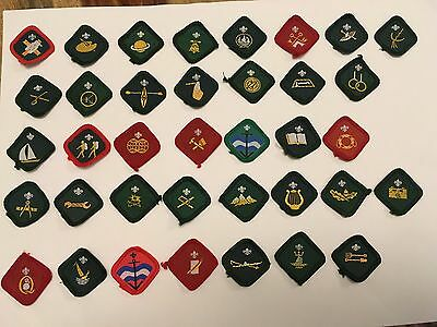 Scout Obsolete Proficiency Badges 1981 to 1991
