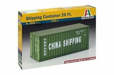Italeri Model Kit - Shipping Container 20FT - 1:24 Scale - 3888 - New