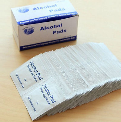 Alcohol Swabs 70% IPA - Skin Cleansing Wipes - Pre-Injection Swabs - NEW