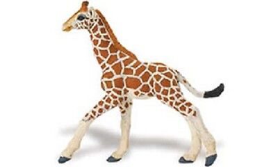 Safari #268529 WS Jungle Reticulated Giraffe Baby, RETIRED Toy Giraffe