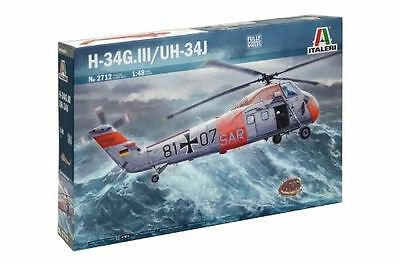 Italeri Model Kit - H-34G.III/UH-34J Helicopter - 1:48 Scale - 2712 - New