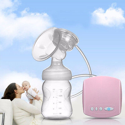 Electric Breast pump Automatic sucked+Milk bottle USB interface Easy to use
