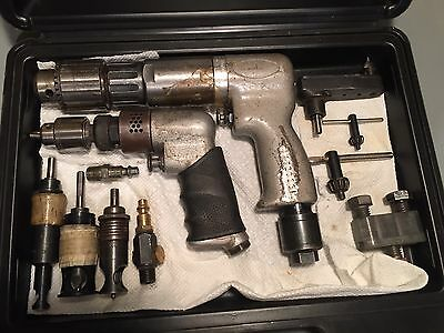 Dotco 430 Rpm And Very Nice Palm Drill Several Other Drill Items Pancake Etc.