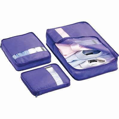 Go Travel 3 Piece Bag Packers Purple 300 PUR