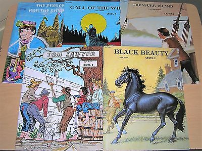 Edcon Bring The Classics To Life 5 Book Lot Level 2 Home School Classic Worktext