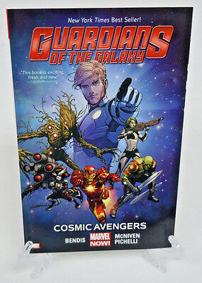 Guardians of the Galaxy V 1 Cosmic Avengers Marvel TPB New Trade Paperback Book