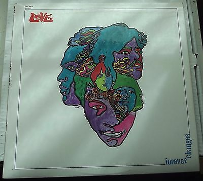 Love Forever Changes 1971 Elektra K 42015 A3 B1 Excellent+ Condition Ex+/ex