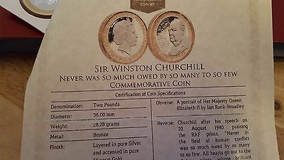 never  was so much owed  by so many            Sir  winston churchill