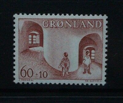 GREENLAND 1968 Child Welfare. Set of 1. Mint Never Hinged. SG67.