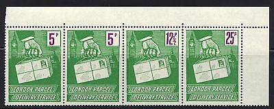 GREAT BRITAIN 1950s PARCEL POST DELIVERY SERVICE SET OF