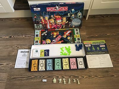 The Simpsons Monopoly Treehouse Of Horror Collectors Edition Board Game (V Rare)