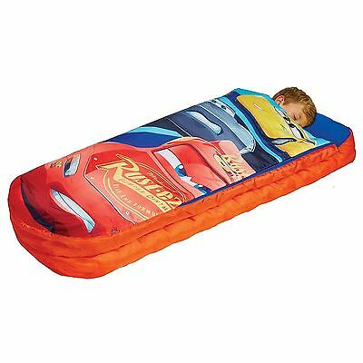 Disney Cars 3 Junior Ready Bed & Pump Sleepover Air Bed Kids Boys Free P+P