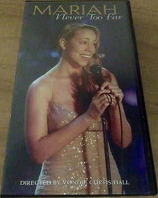 Mariah Carey - Never Too Far - USA Promo Only Picture Sleeve Video.Very Rare