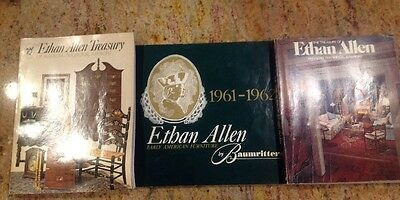 Lot Of 3 Vintage Ethan Allan Furniture Catalogs American Traditional Baumritter